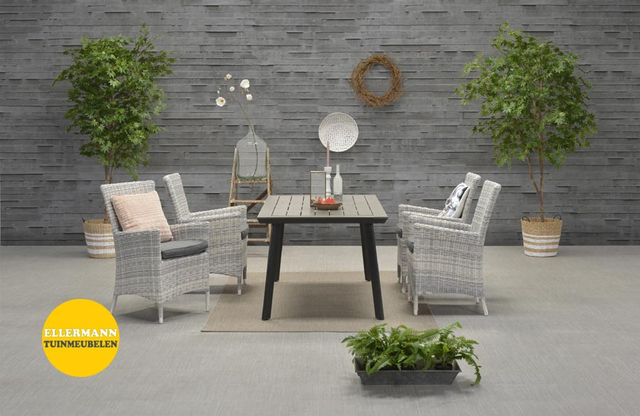 Costa eettafel stoel Garden Impressions