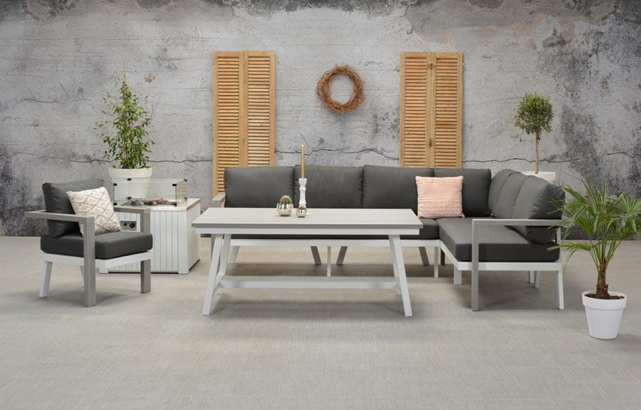 morgana loungeset garden impressions ellermann tuinmeubelen. Black Bedroom Furniture Sets. Home Design Ideas
