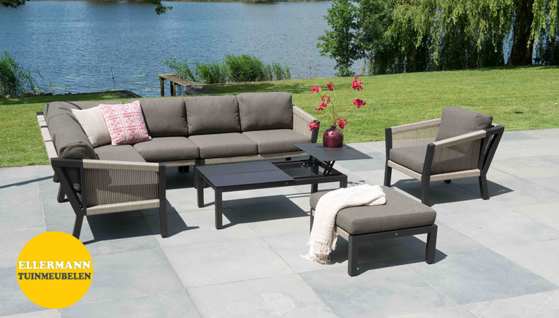 Season outdoor collectie oslo loungeset en scandic tuinset