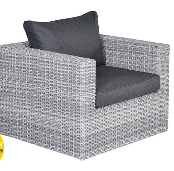 Silverbird loungestoel - cloudy grey