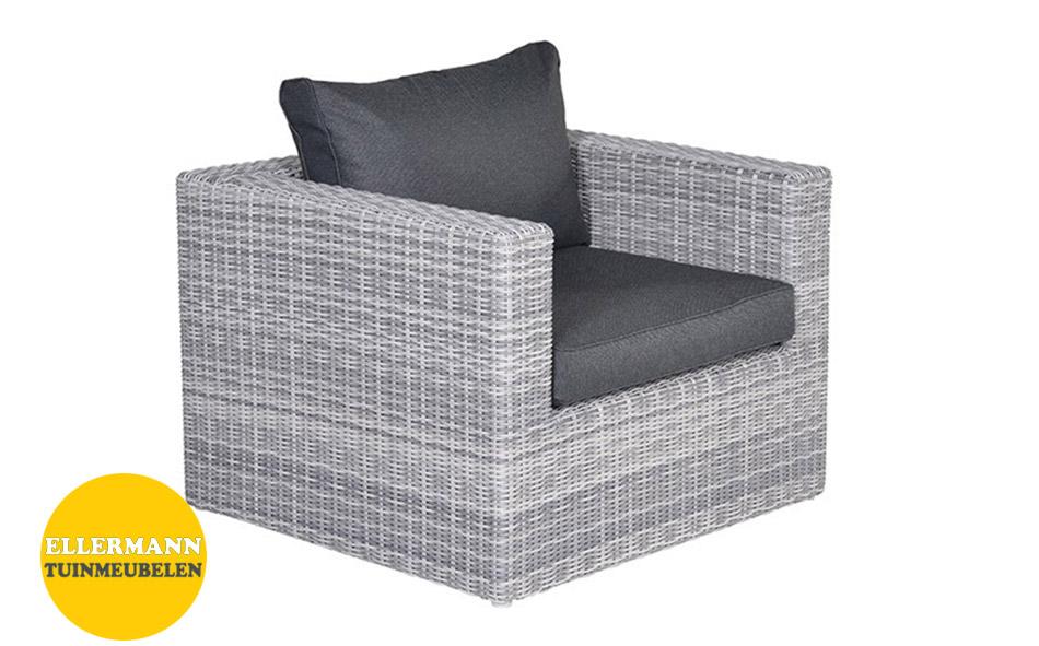 Silverbird loungestoel - cloudy grey