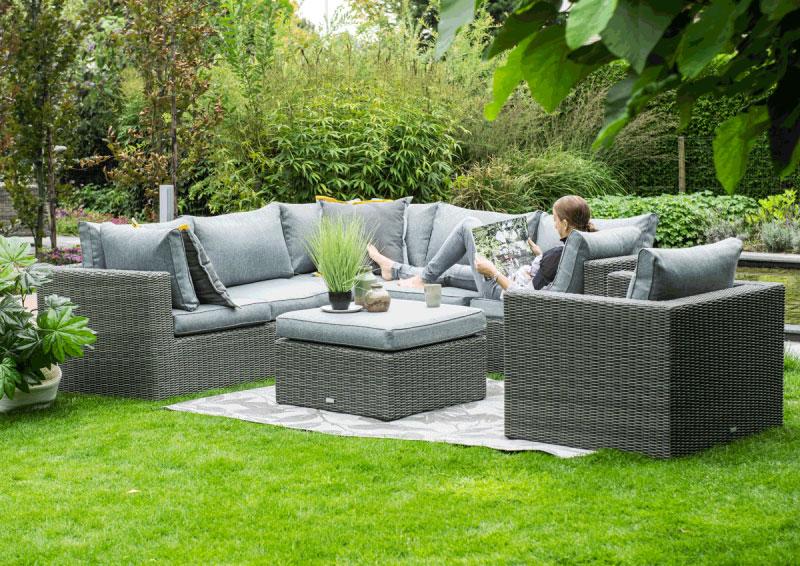 silverbird 4 delige loungeset garden impressions earl grey ellermann tuinmeubelen. Black Bedroom Furniture Sets. Home Design Ideas