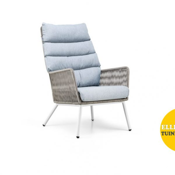 Faros loungestoel grijs