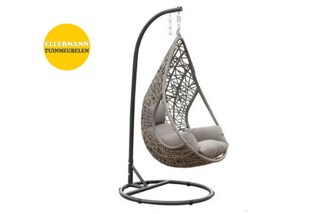 Hangstoel Met Parasol.Hangstoel Mona Relax Sand Ellermann Tuinmeubelen