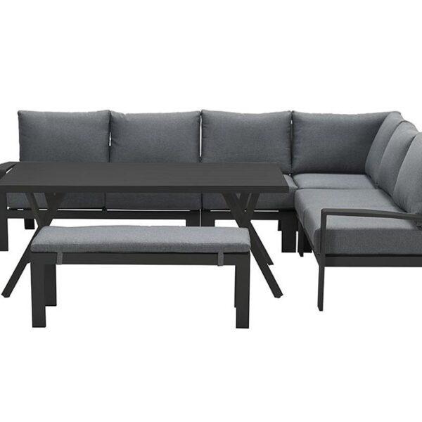 Rondo loungeset zwart
