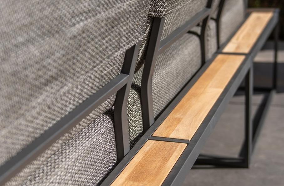 Patio loungebank detail